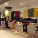 The Clothesline Project will be displayed Monday, November 2 – Friday, November 6, 2015 in the Cushing Center Lobby. It is a part of this week's Enough is Enough Campaign.
