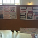 Some of the posters at the presentations.