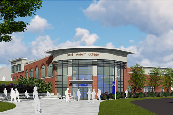 A rendering of the expansion and renovation of the Student Center Complex