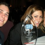 Saint Anselm SIFE Chapter with award