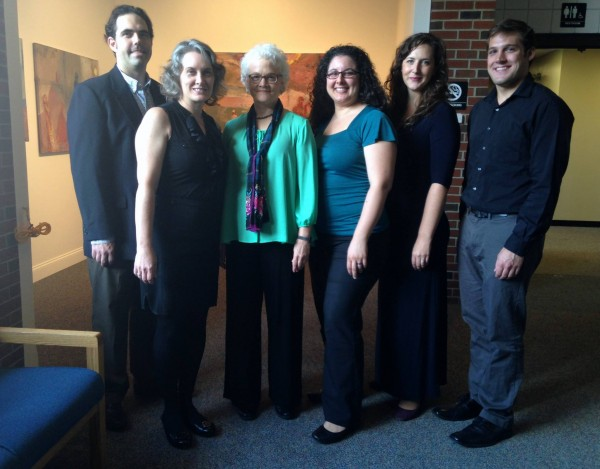 Saint Anselm music faculty (courtesy Fine Arts department)